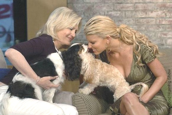 Diane Sawyer with Lila