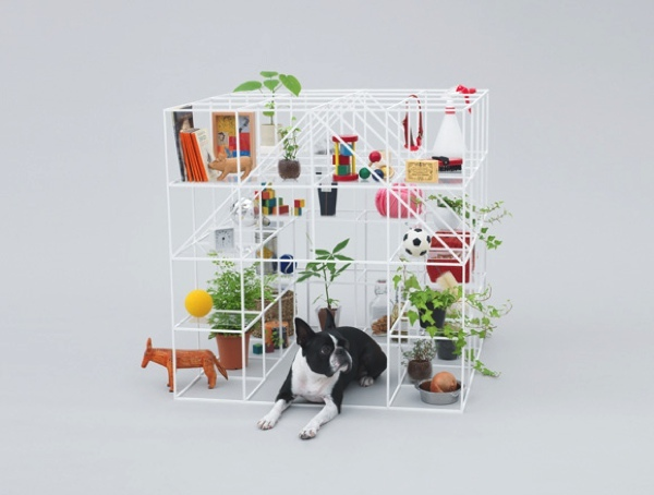 Architecture for dogs by SOU FUJIMOTO for BOSTON TERRIER