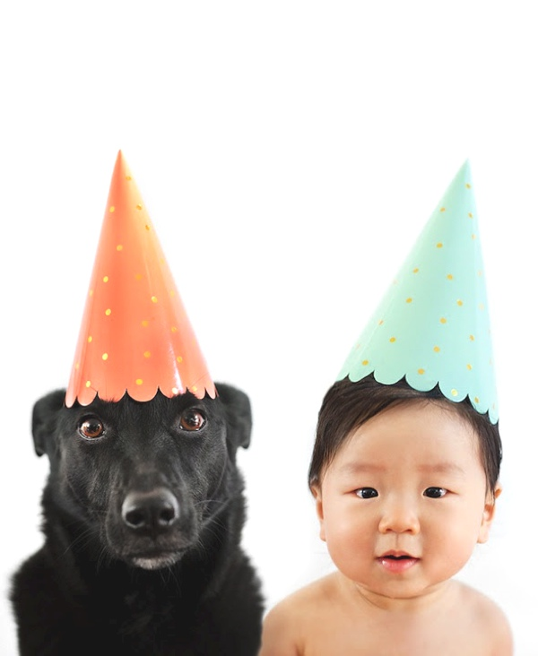 Grace Chon takes adorable portraits birthday hat
