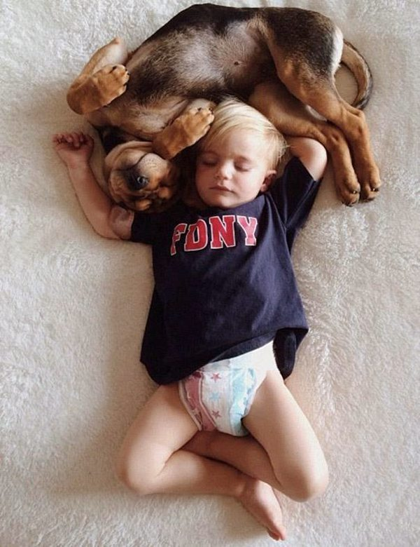 Dog and Child | Sleeping beauties04
