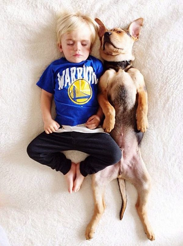 Dog and Child | Sleeping beauties05
