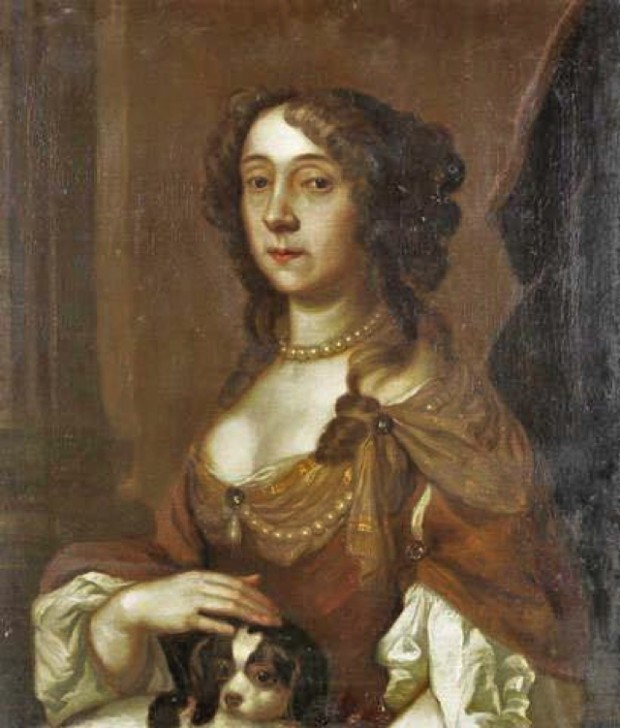 CAVALIERS IN ART Portrait of a Lady by Pieter Borsselaer (ca. 1640-1731